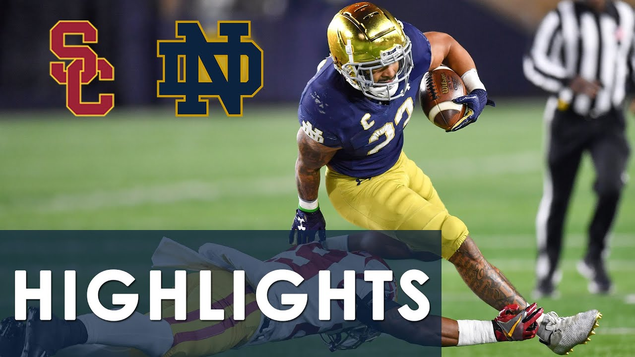 Download USC vs. Notre Dame | EXTENDED HIGHLIGHTS | 10/23/2021 | NBC Sports