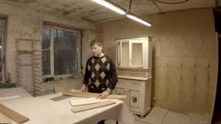 видео Мебель из массива