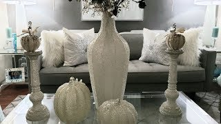 Good Bye Summer! Z Gallerie Fall Haul with NEW PUMPKINS! Decorate with Me!