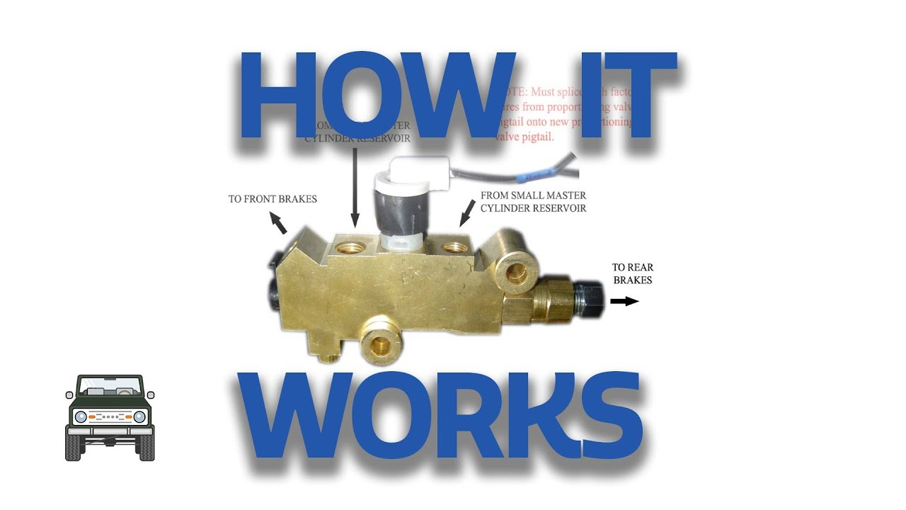 Proportion Valve How It Works Youtube 71 Nova Engine Wiring Diagram Premium