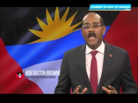 Antigua PM Gaston Browne speaks out on John Ashe | CEEN Caribbean News | Oct 19, 2015