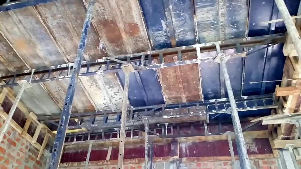 Roof concrete shuttering,span,jockey quanity