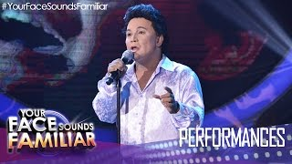 "Your Face Sounds Familiar: Eric Nicolas as Martin Nievera - ""Be My Lady"""