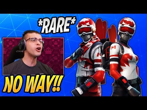 Nick Eh 30 Reacts To His *RARE* ALPINE ACE (CANADA) BACK To Fortnite (Item Shop 17)