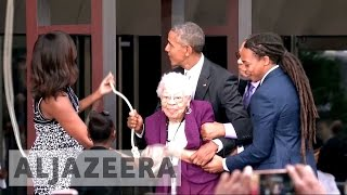 African American museum officially opens in Washington, DC