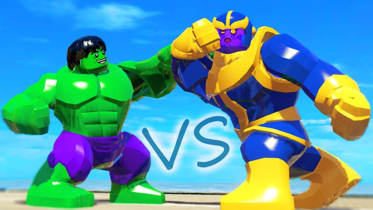 Hulk Vs Thanos Avengers Endgame In Lego Marvel Super Heroes Youtube