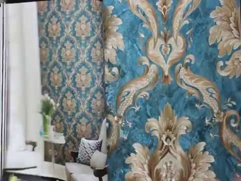 A46 3 Good Wallpaper Suppliers Flower Design Wall Decoration Pvc Wallpaper In China