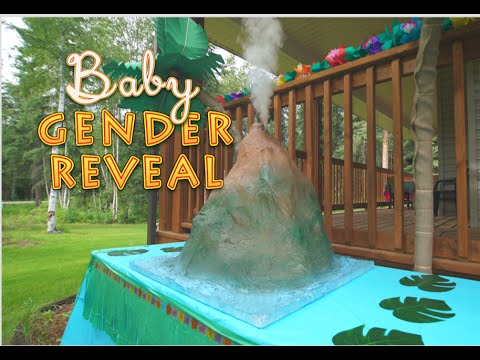 Luau Is An Explosive Baby Gender Reveal | RTM - RightThisMinute
