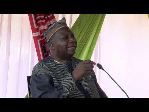 Plateau télé du CDL 2019 : Le professeur Théophile Obenga , parrain de la quinzième édition
