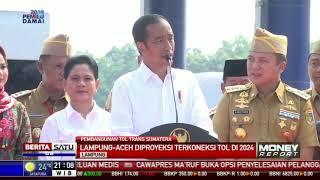 Lampung-Palembang Ditargetkan Terkoneksi Tol Tahun 2019