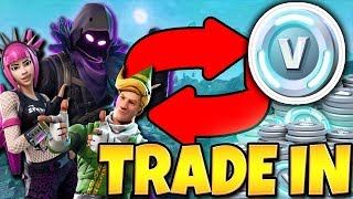 *NEW* TRADE IN YOUR EXTRA SKINS FOR FREE VBUCKS!! NEW FORTNITE UPDATE! | TBNRKENWORTH