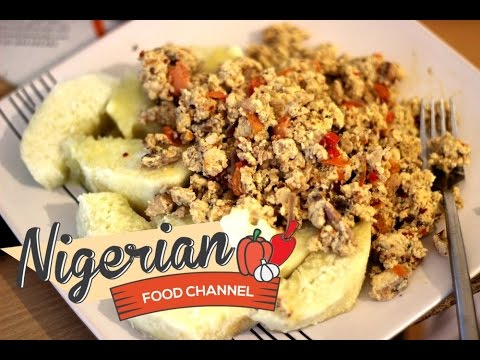 HOW TO COOK YAM AND EGG   Nigerian Food Recipes