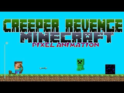 The Revenge Of The Creeper| Minecraft Pixel Animation