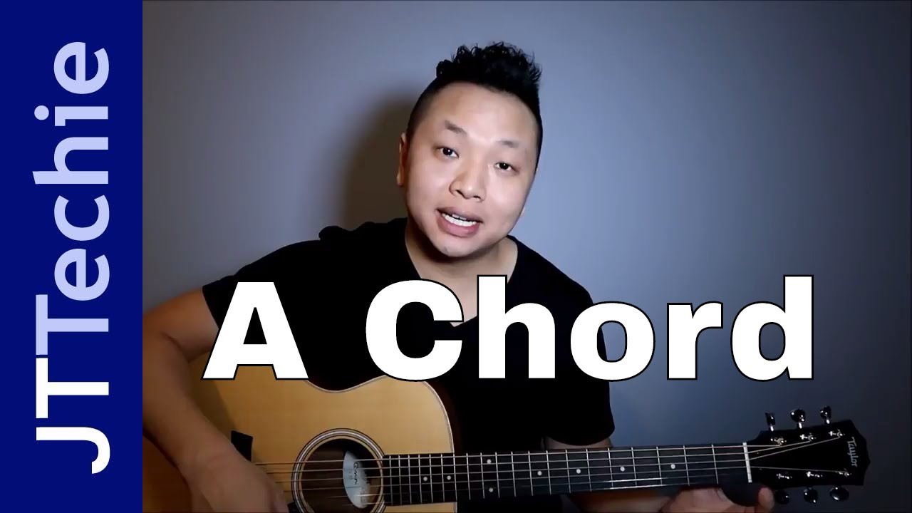 Chords Library - Chords on Acoustic Guitar with JTTechie