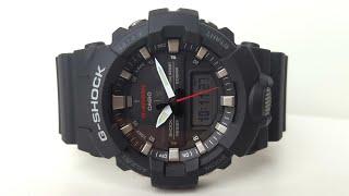 Casio G-Shock GA-800-1A. Огляд і настройка (Review and setting)