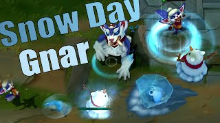 Snow Day Gnar Skin Spotlight - Pre-Release - League of Legends