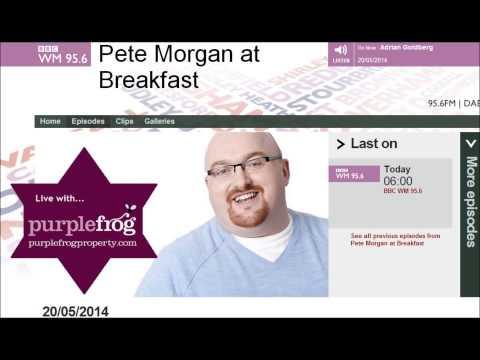 Purple Frog BBC West Midlands Live Radio Discussion on Student Accommodation Birmingham