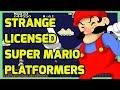 Strange Officially Licensed Super Mario Games - Nintendo Retro Gaming - THGM