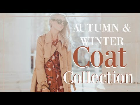 e36a0eb4161 AUTUMN & WINTER COAT COLLECTION + HOW TO FIND YOUR PERFECT COAT // Fashion  Mumblr - YouTube