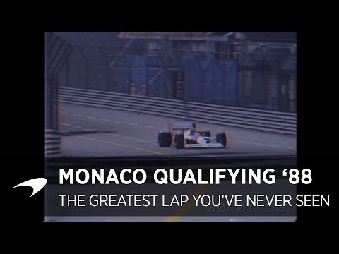 The Greatest Lap You've Never Seen | Monaco Qualifying 1988