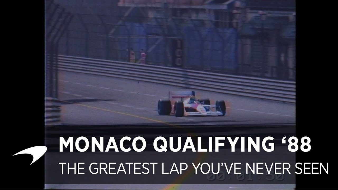 The Greatest Lap You've Never Seen | Monaco Qualifying 1988 Video Thumbnail