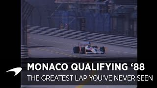 The Greatest Lap You've Never Seen | Monaco Qualifying 1988 thumbnail