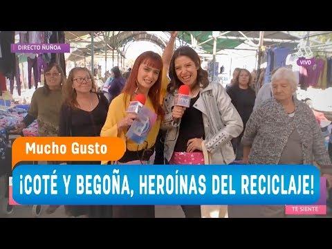 ¡Coté y Begoña, las heroínas del reciclaje! - Mucho gusto 2018