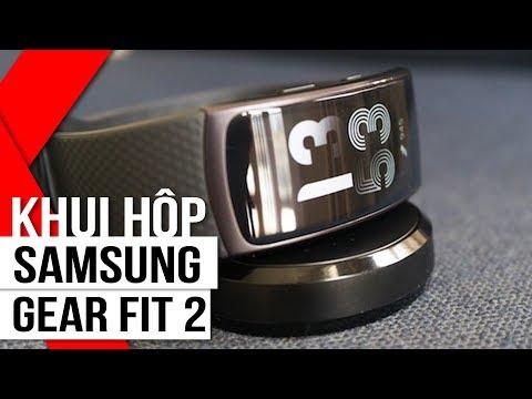 FPT Shop - Khui Hộp Samsung Gear Fit 2: Thông Minh, Thời Thượng