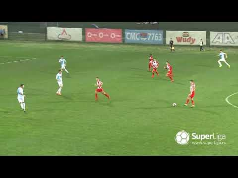 Super liga 2018/19: 27.Kolo: RAD – CRVENA ZVEZDA 0:3 (0:1)