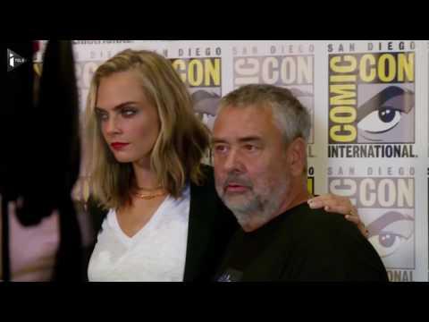 """""""Valérian"""" de Luc Besson, film vedette du Comic Con 2016"""
