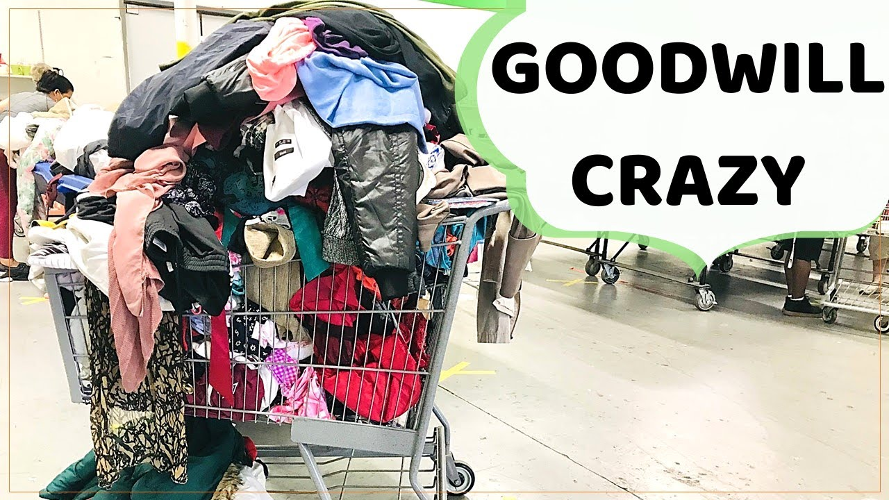 Goodwill Bins Thrifting - What A Shock!