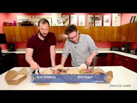 Seth Rogen and Evan Goldberg on poutine