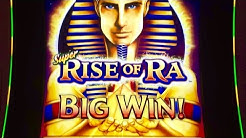 Super Rise of Ra slot- Big wins/Max bet bonus!