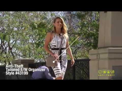 d6c035361641 43199 Anti-Theft Tailored E/W Organizer - Women's Bags - By Anti ...