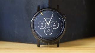 видео Смарт часы Motorola Moto 360 2nd gen (второе поколение) женские, 42 мм