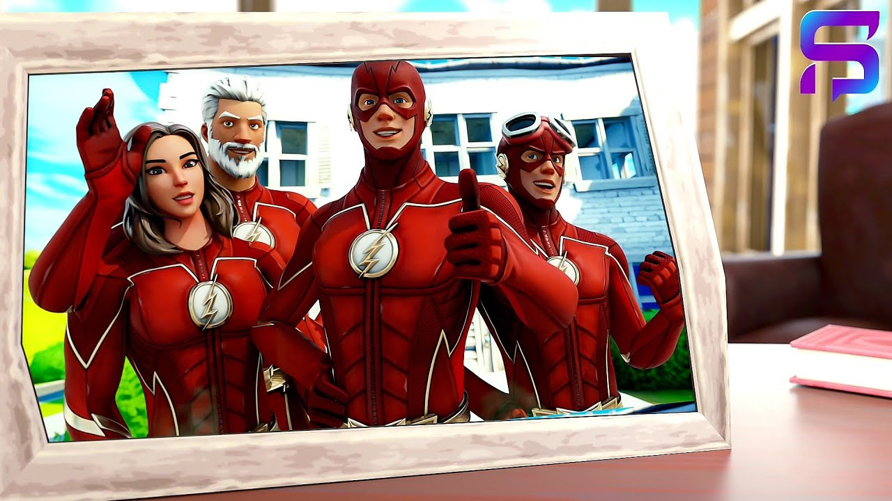 The FLASH'S FAMILY REUNION.... ( Fortnite Short )