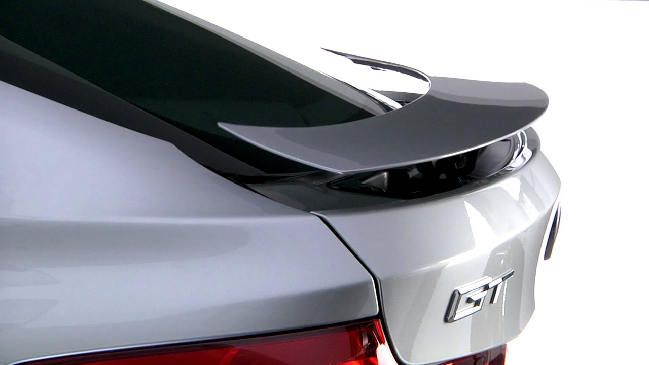 Bmw 3 Series Gran Turismo Active Rear Spoiler Youtube