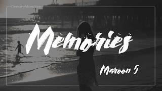 Baixar Maroon 5 - Memories lyrics | 中文歌詞翻譯字幕