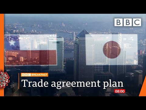 UK applying to join Asia-Pacific free trade pact CPTPP 🔴  @BBC News  live - BBC