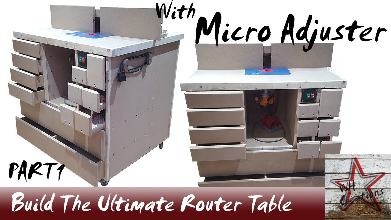 Ultimate wood router table build with micro adjustment fence part 1 ultimate wood router table build with micro adjustment fence part 1 greentooth Gallery