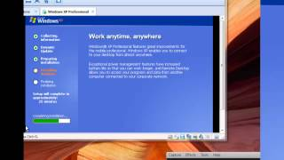 How to install windows xp pro sp3
