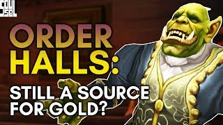 Order Hall Gold Making Post-Legion: Still a Thing?