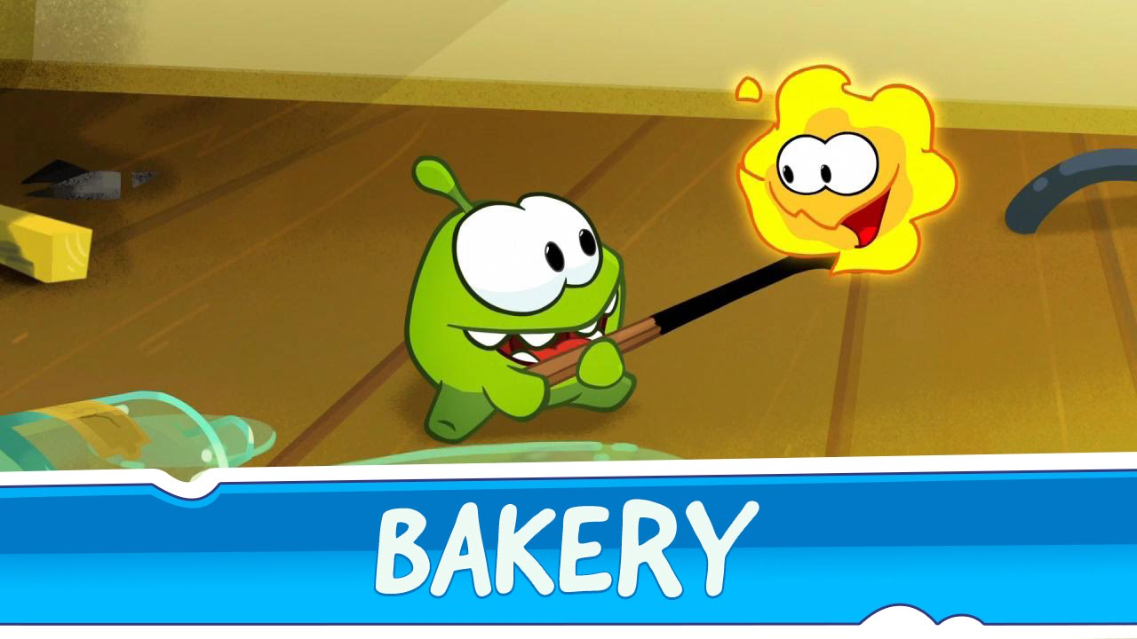 Om Nom Stories: Bakery (Episode 28, Cut the Rope 2)