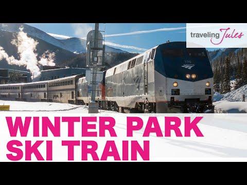 WINTER PARK: Winter Park Express Ski Train