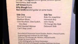 Ride On Josephine - George Thorogood and the Destroyers