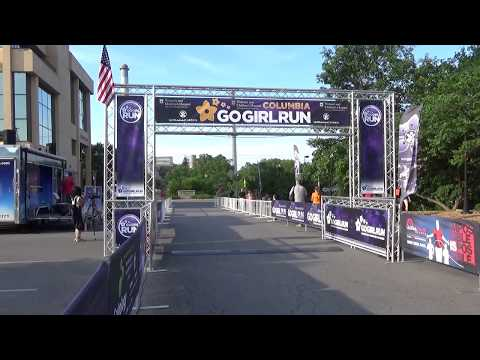 2017 Go Girl Run Columbia Finish Line Video