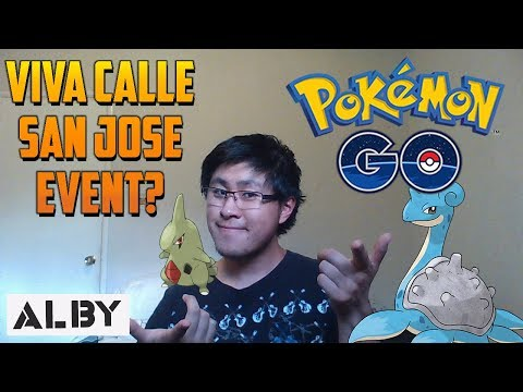 Upcoming Pokemon Go Event San Jose, CA
