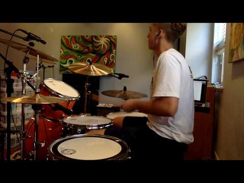 Drought Breakers- Rain | Scott Darlow, Sarah McLeod, Adam Brand, Jack Jones,|Drum Cover