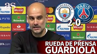 MANCHESTER CITY 2 - PSG 0 | Rueda de prensa de GUARDIOLA