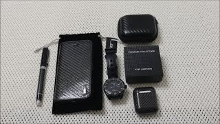 Simply Carbon Fiber vs AliExpress For iPhone and Airpods